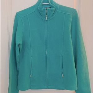 New Tommy Bahama Full Zip Aqua Aruba Jacket PS